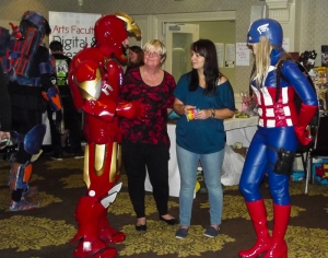 Chatting with Cosplayers