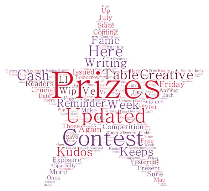 Prizes again