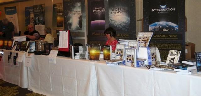 fantasticon book stall