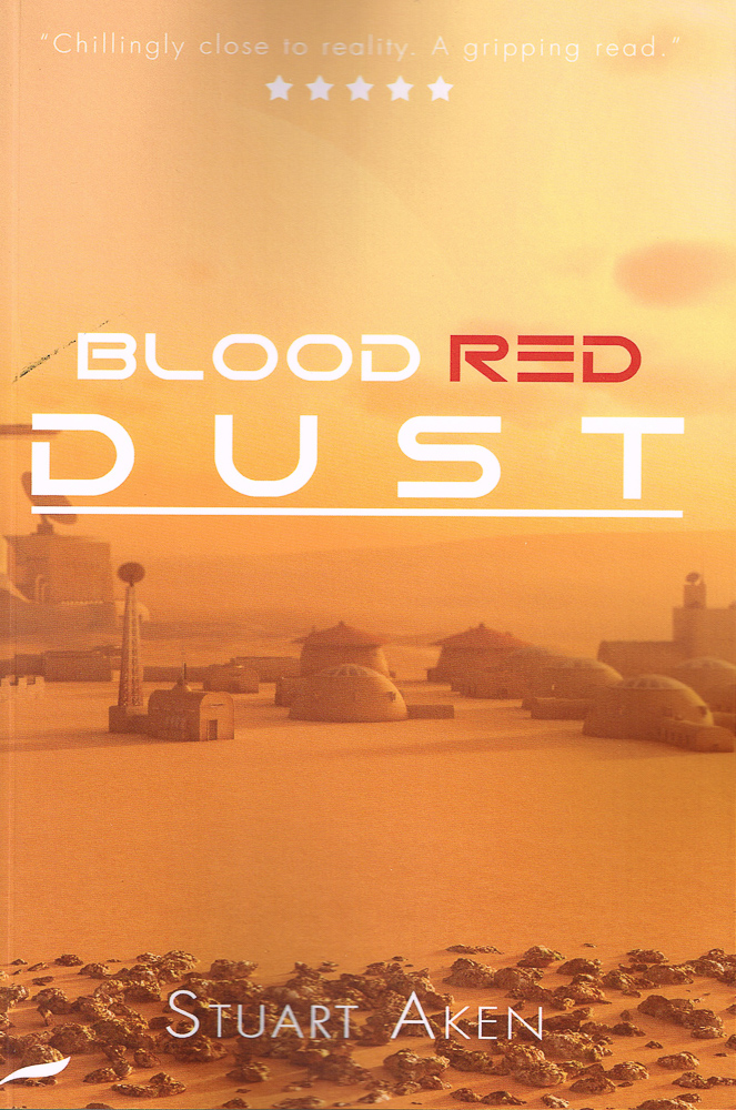 Blood Red Dust is the 1st in a new scifi series set on Mars.