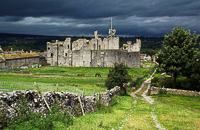 zStorm over Middleham Castle