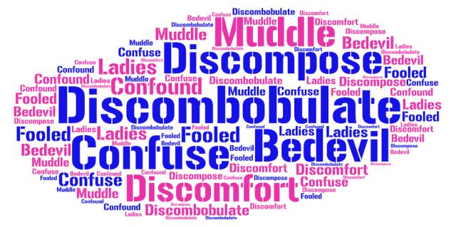 discombobulate