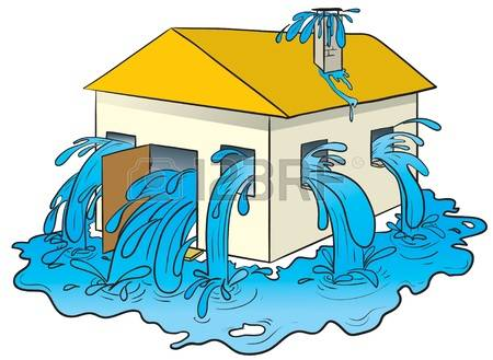 flood-clipart-flooded-house-14