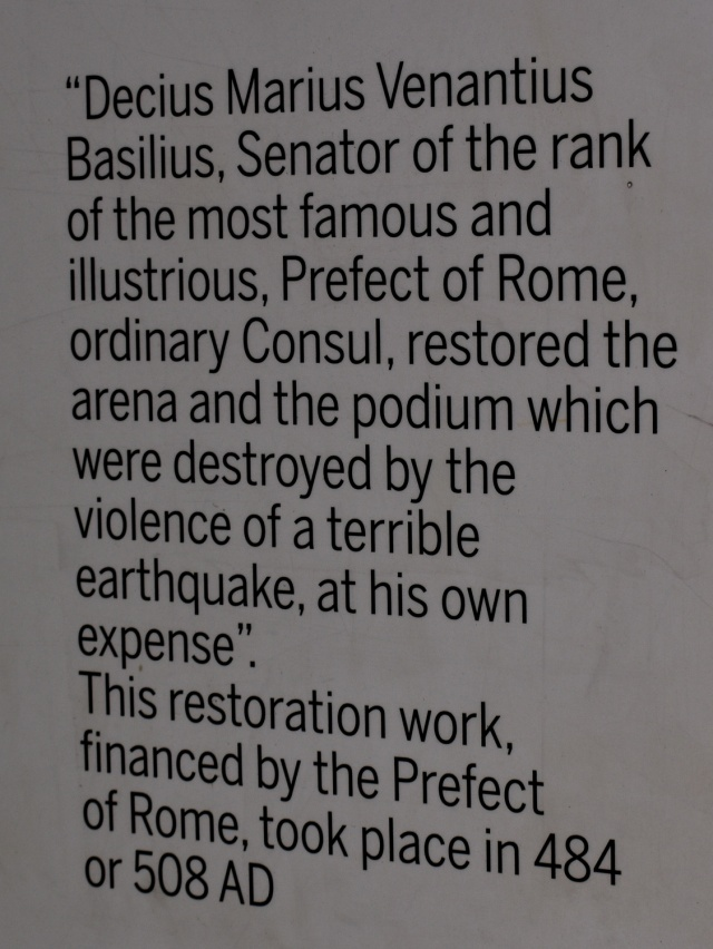 Colosseum int8