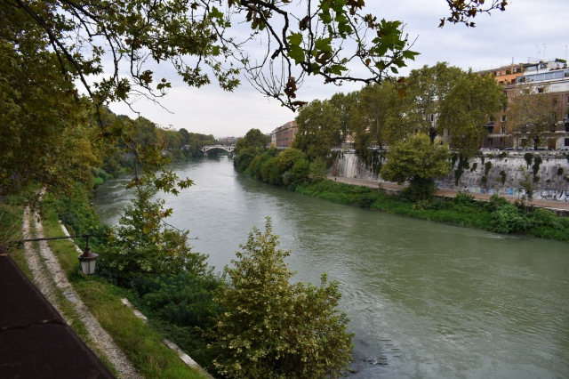 first view of tiber