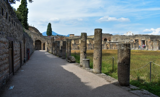 in Pompeii