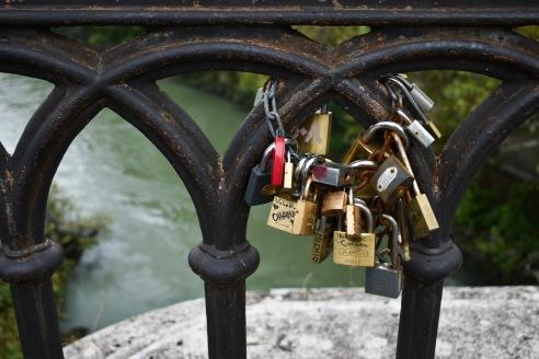 Padlocks on Ponte